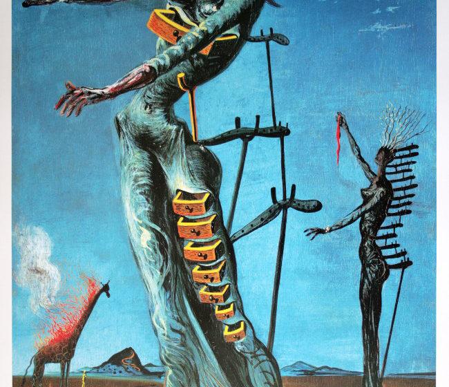 """Psicoterapia ed arte. """"La Giraffa in fiamme"""", dall'utopia alla distopia."""