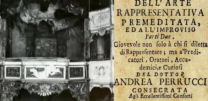 Memorie del teatro di corte di Palazzo Caetani