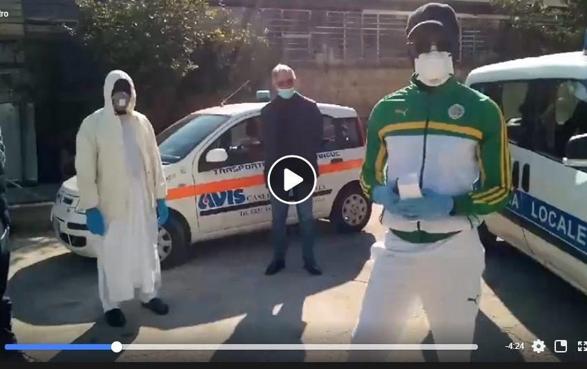 La comunità senegalese dona il sangue agli italiani