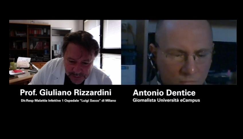 """Ospedale """"Sacco"""" di Milano: parla Giuliano Rizzardini"""