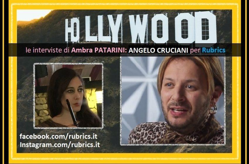 Da Netflix, Angelo Cruciani si rivela a Rubrics – di Ambra Patarini