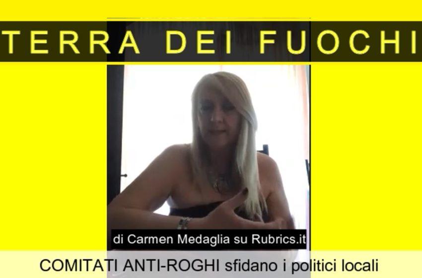 TERRA DEI FUOCHI: i comitati anti-roghi sfidano i politici
