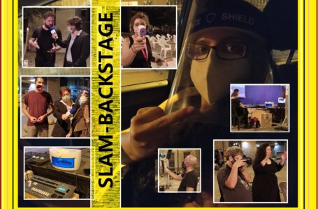 Backstage SLAM POETRY – finale regionale 2020